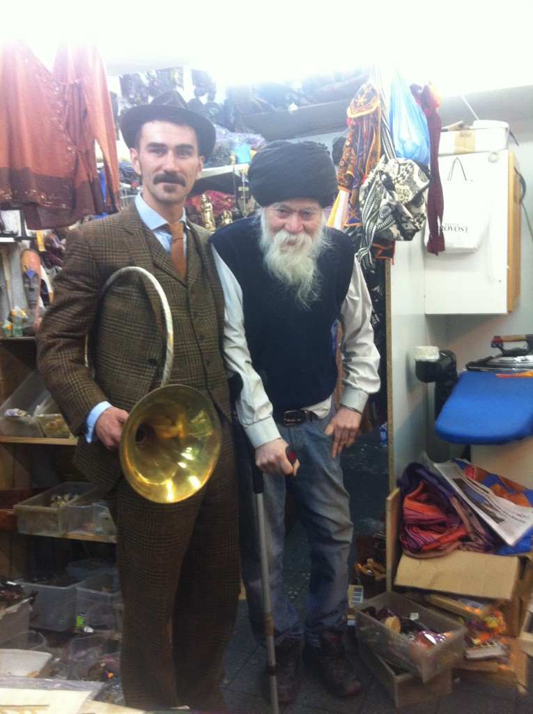 toby with amazing antique seller