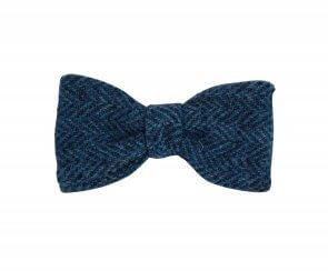 Morris Tweed Bow Tie - Self Tie