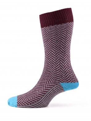 Fisherman Merino Sock