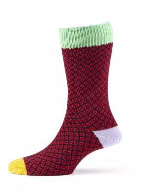 Matrix Merino Sock