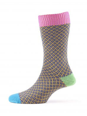 Matrix Merino Sock