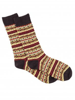 Fairisle Merino Sock