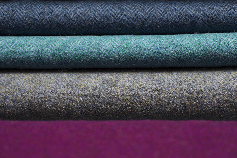 Harris Tweed fabric patternas